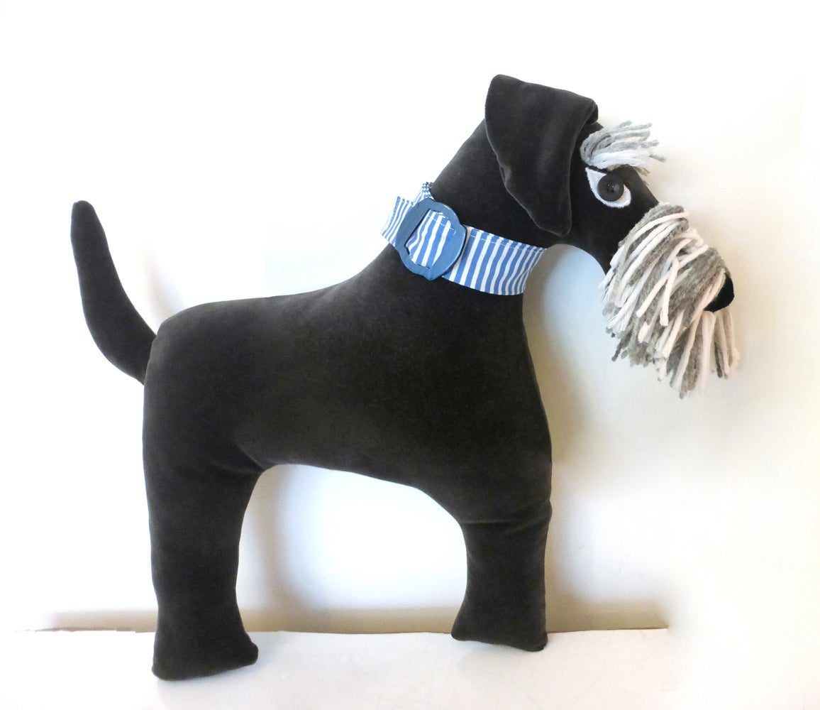 Image of Schnauzer Cushion