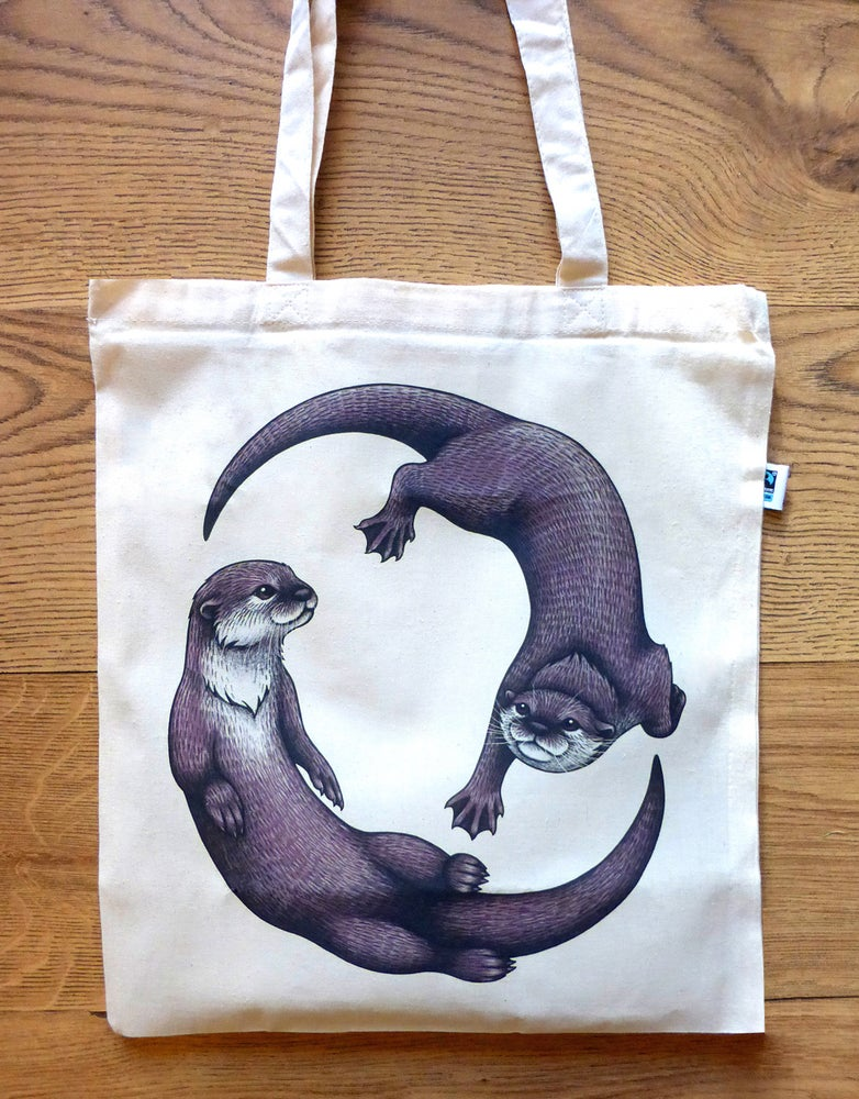 Image of Otters Tote Bag