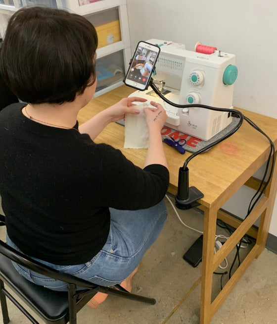 Image of Virtual Sewing Group Classes