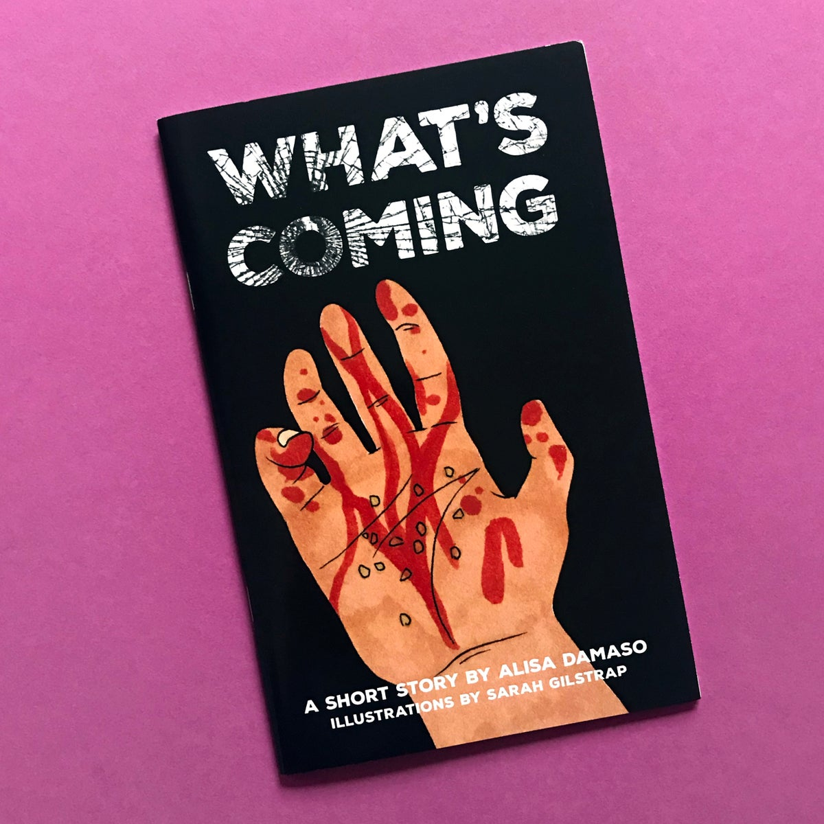 """Image of """"What's Coming"""" Literary Zine"""