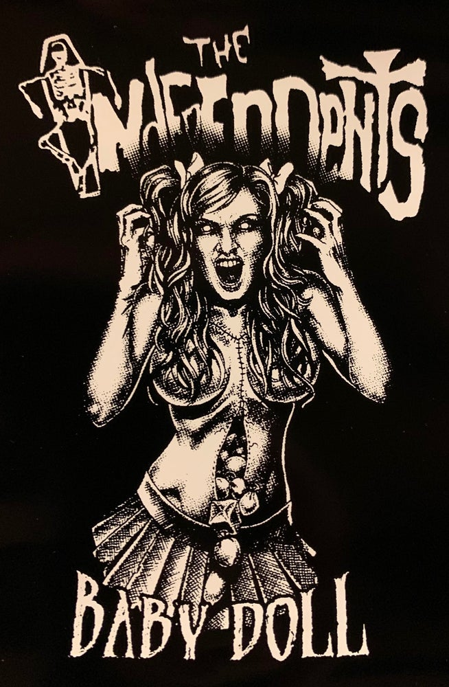 Image of The Independents Babydoll sticker