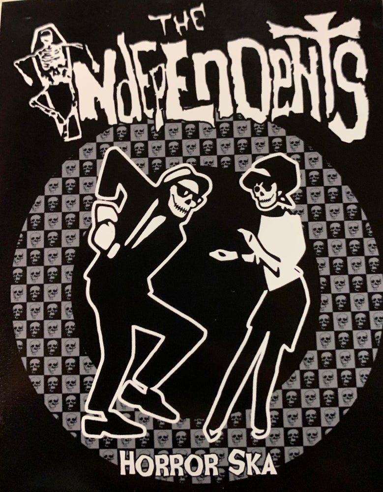 Image of The Independents Horror Ska sticker