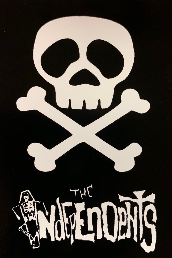 Image of The Independents pirate sticker