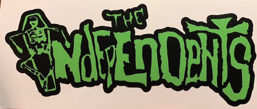 Image of The Independents Green Logo sticker