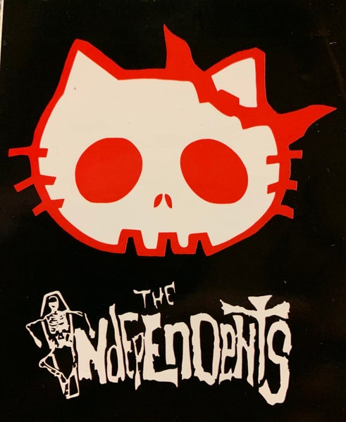 Image of The Independents Kitty sticker
