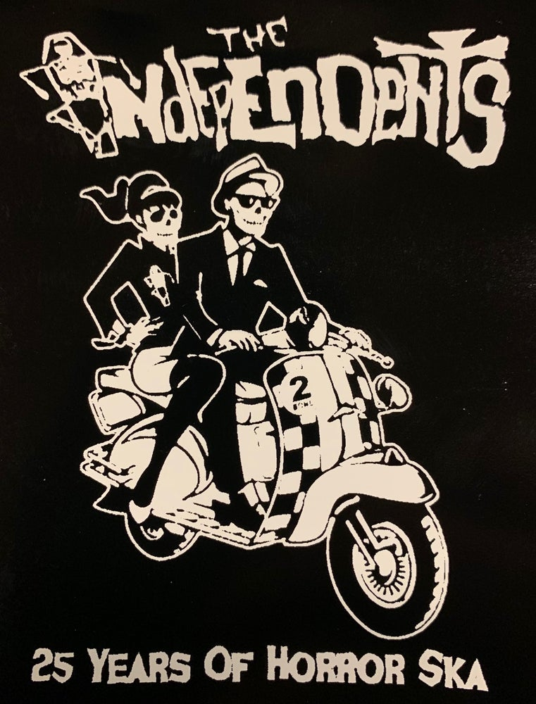 Image of The Independents Two Bone Sticker