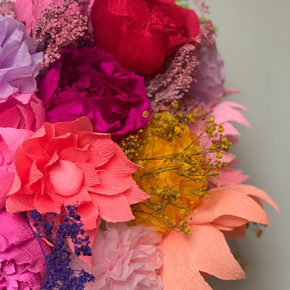 Image of Summer Bouquet- Peonies, Dahlias & Pom Poms