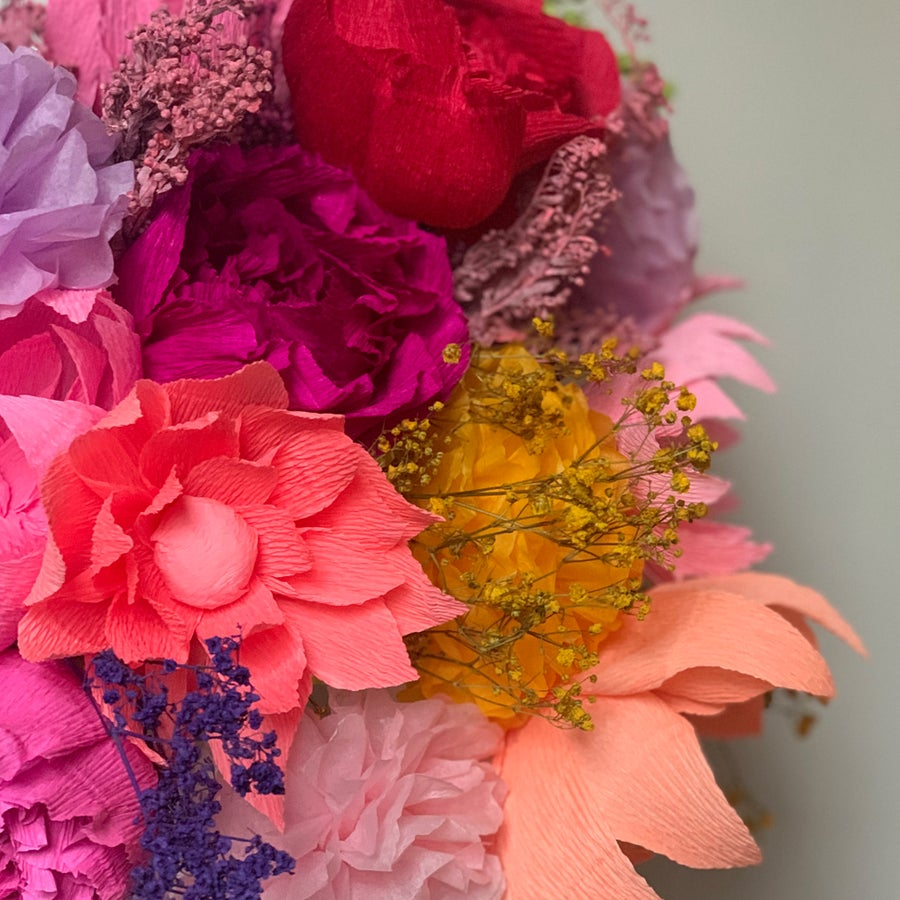 Image of Summer Bouquet- Peonies, Dahlia, Pom Pom