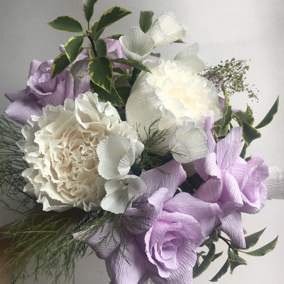 Image of Early Spring Bouquet - Peonies & Roses