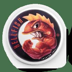 Image of 'Hellfish' - Button