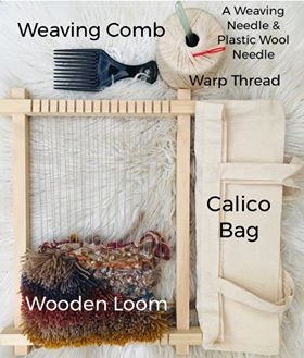 Image of Weaving Kit- Perfect for the Weaving Online Class