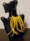 Lela Fringe Earrings-Yellow Gold