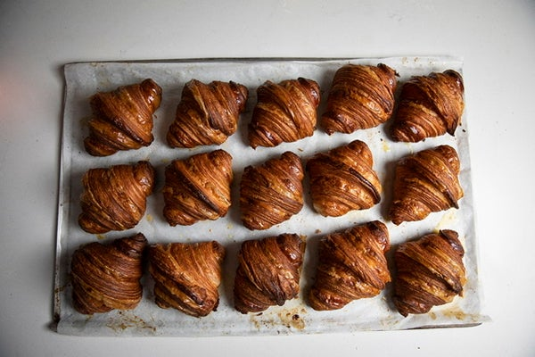 Image of 2 Plain croissants