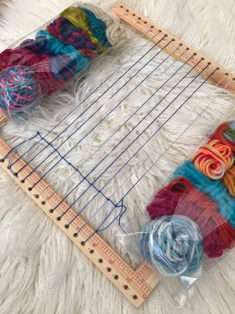 Get creative with Kid's Weaving Kits
