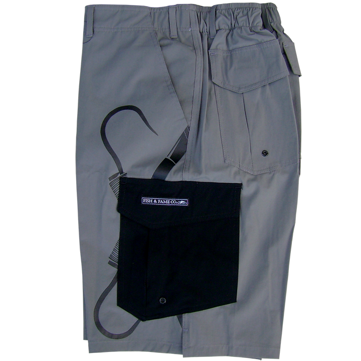 Image of Deck Fishing Short (cool grey)