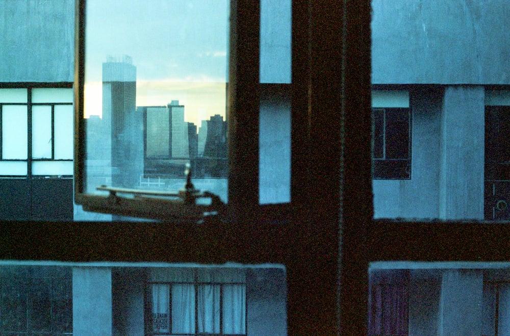 Image of Print: blue night