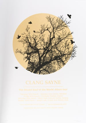 Image of CLANG SAYNE, The Round Soul Of The World Tour poster