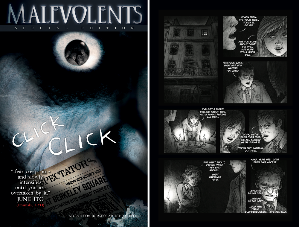 Image of Malevolents (Standalone Graphic Novella)