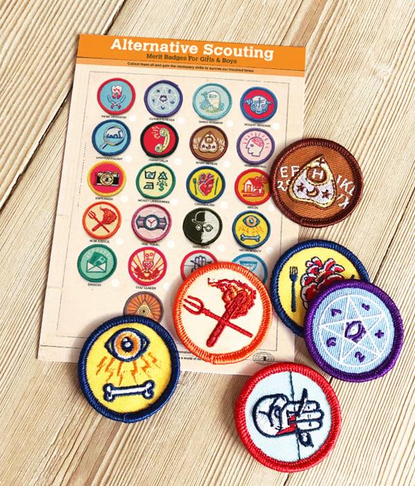 Image of Alternative Scouting Merit Badges - SINGLE BADGES