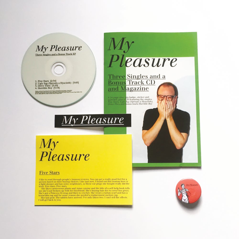 Image of My Pleasure — Three Singles and a Bonus Track CD and Magazine