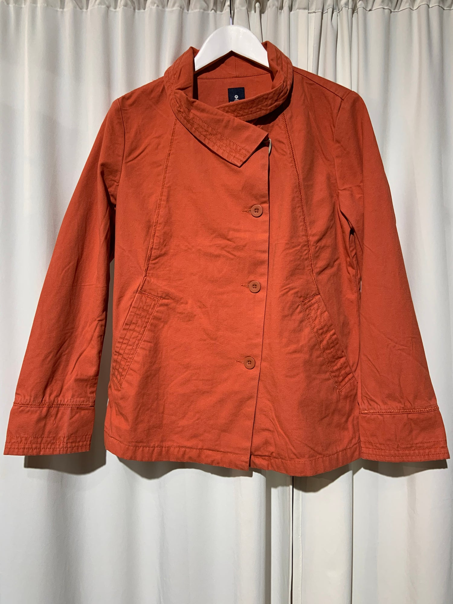 Image of Peacoat Women orange and worker blue