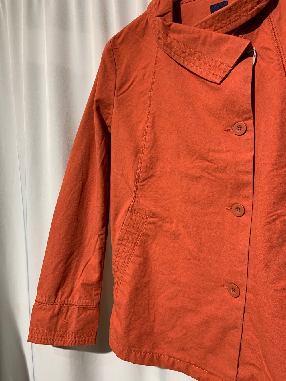 Peacoat Women orange and worker blue