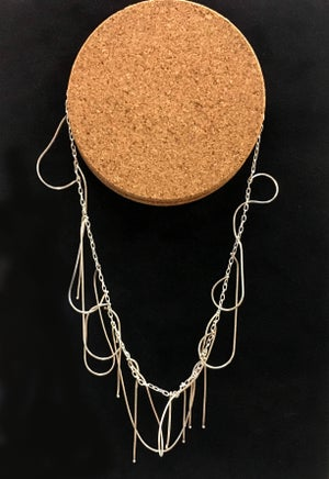 Image of Wild Woman Necklace (link and snake)