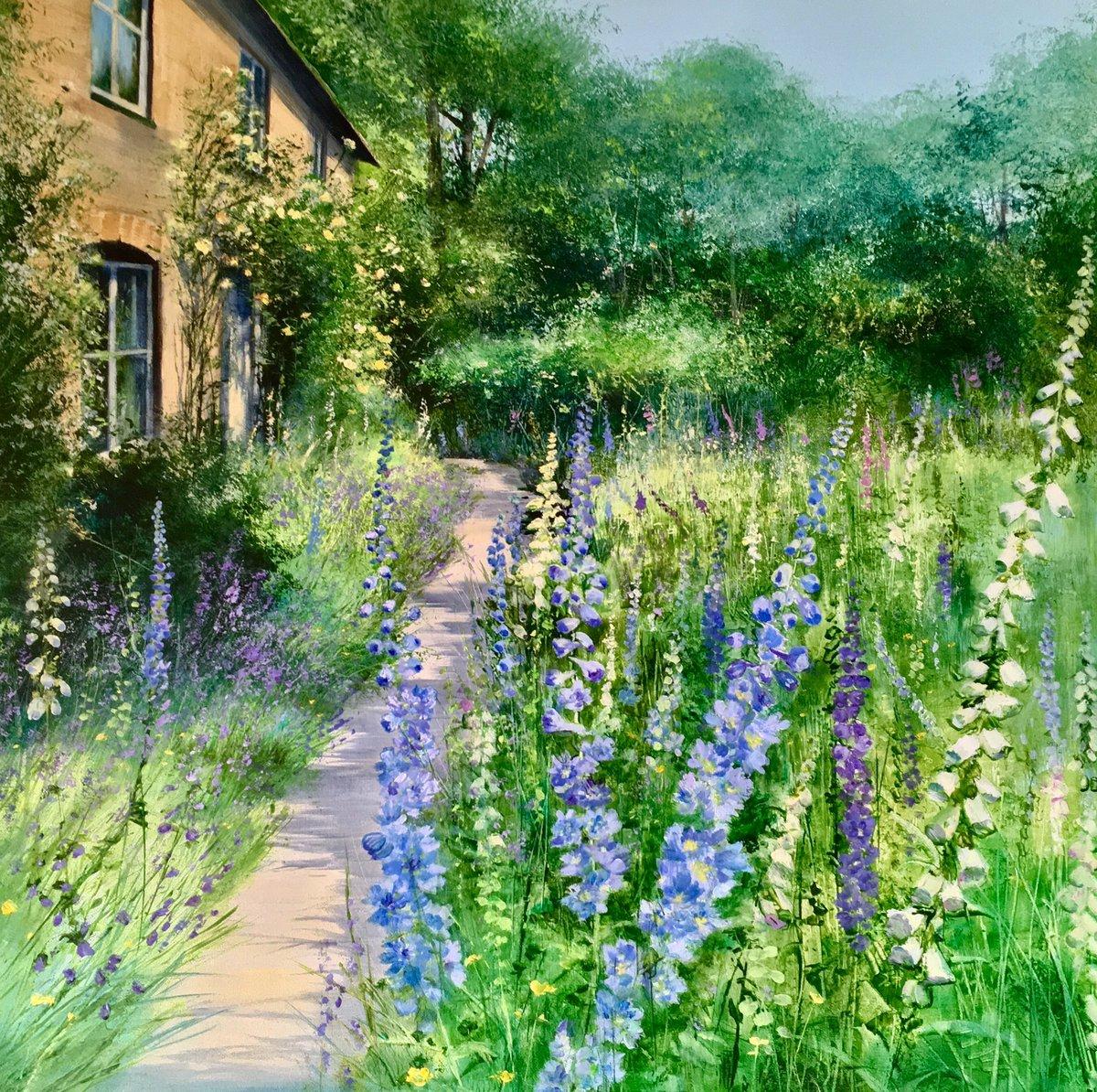 "Heather Howe ""Delphinium Cottage"""