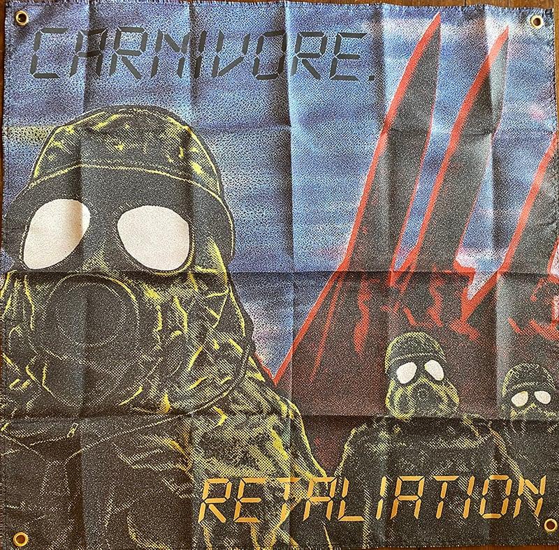 "Image of Carnivore "" Retaliation "" Flag / Banner / Tapestry"