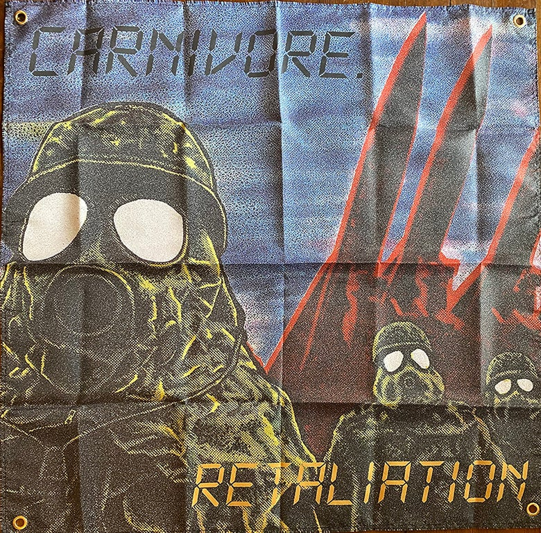 "Image of Carnivore "" Retaliation "" Flag / Banner / Tapestry"