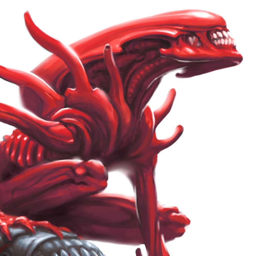 Image of The Scarlet Seer - Art Print