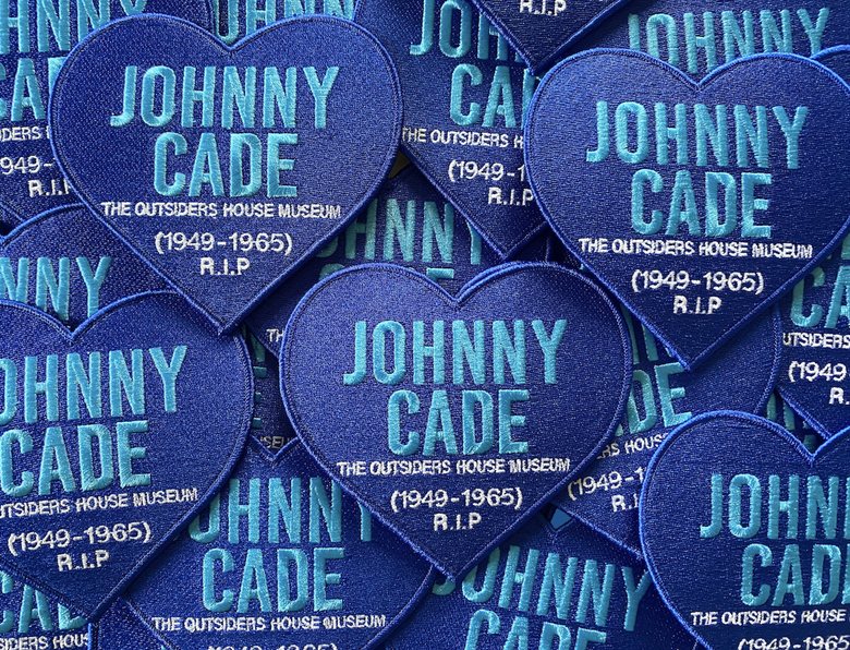 "Image of The Outsiders House Museum ""Johnny Cade"" Heart Patch."