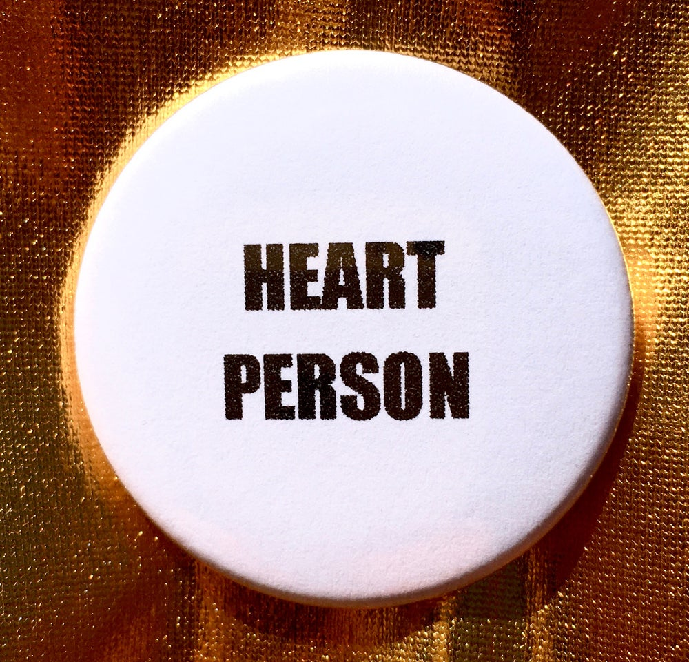 Image of BUTTON #20 (Heart Person)