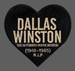 """Image of The Outsiders House Museum """"Dallas Winston"""" Heart Patch."""