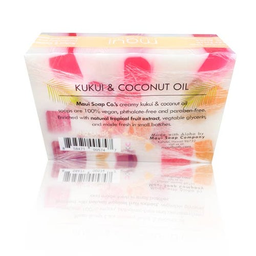 Image of Island Sands Bar Soap with Kukui & Coconut Oil 6oz