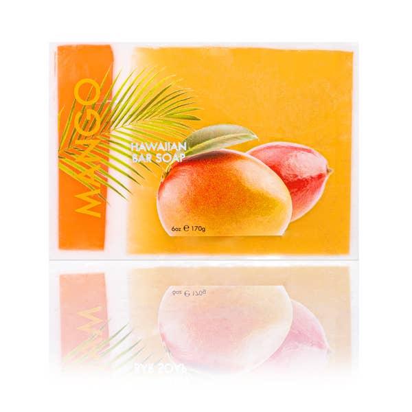 Image of Mango Bar Soap with Kukui & Coconut Oil 6oz- Maui Soap Co.