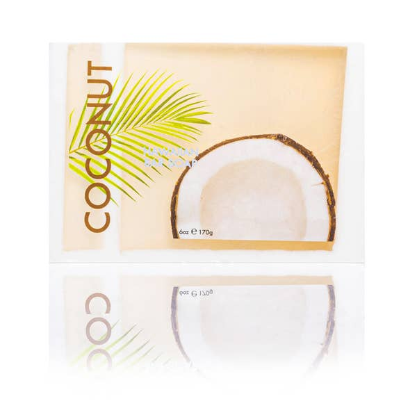 Image of Coconut Bar Soap with Kukui & Coconut Oil 6oz- Maui Soap Co.