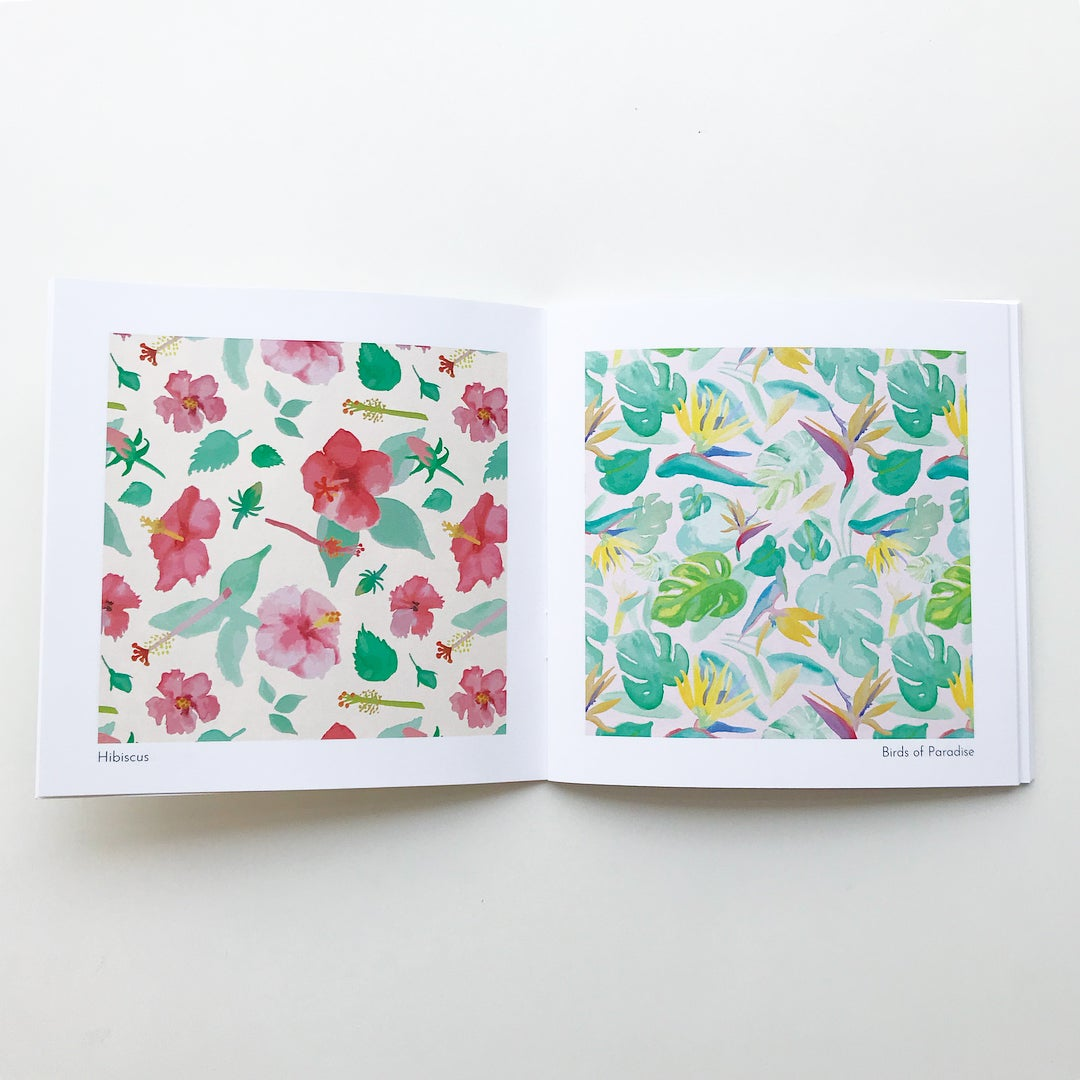 "Image of ""Watercolor Patterns"" Zine"