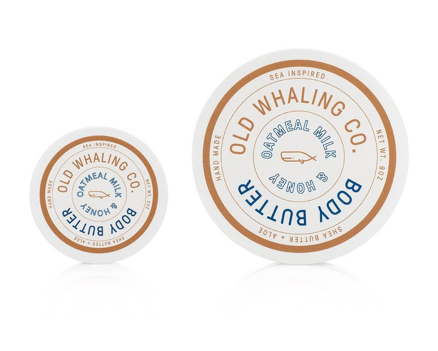 Image of Oatmeal Milk + Honey Body Butter- Old Whaling Co.
