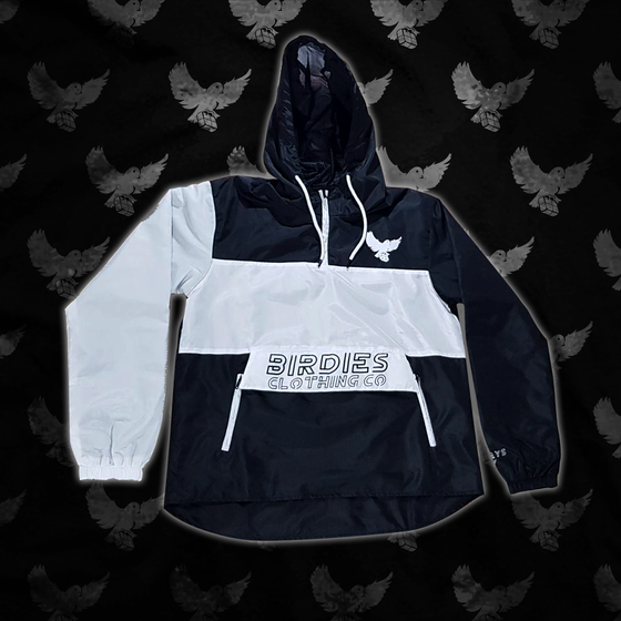 Image of Black/White Windbreaker