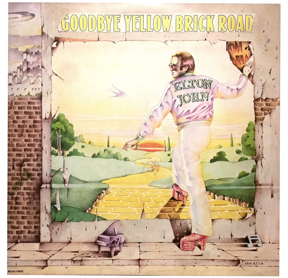 Image of Elton John - Goodbye Yellow Brick Road