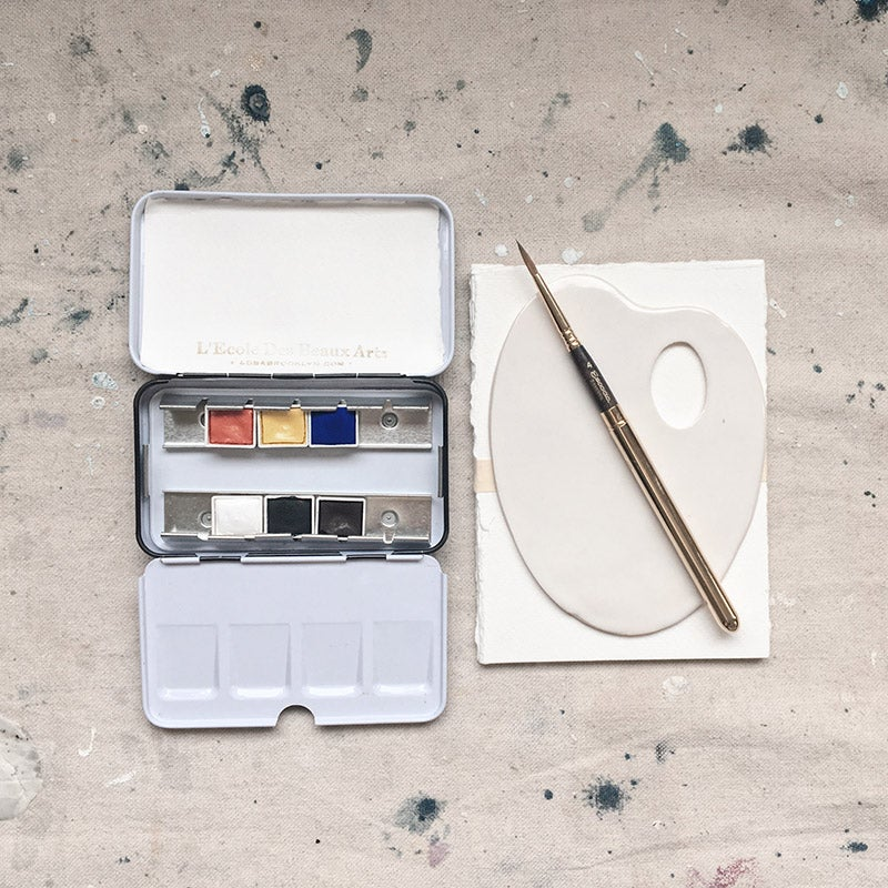 Image of LDBA Watercolor Travel Kit