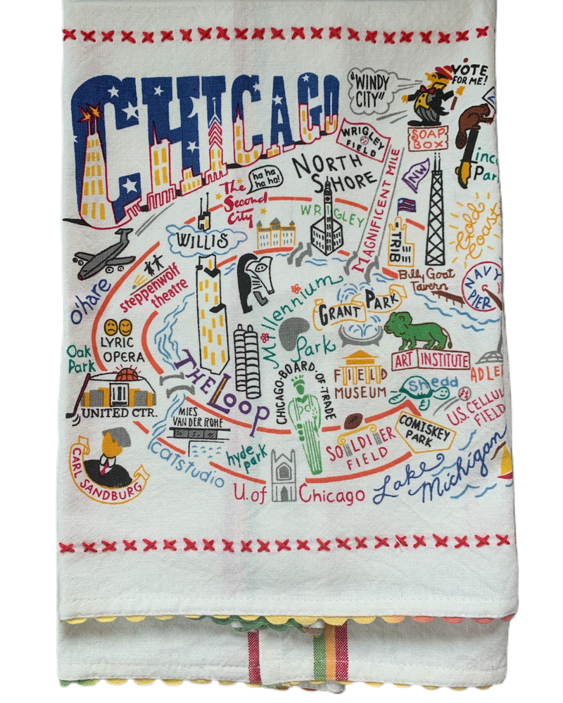 Image of Chicago Dishtowel