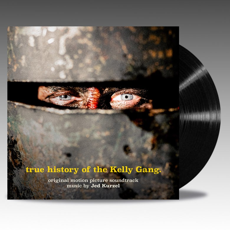 Image of True History Of The Kelly Gang Original Soundtrack 'Classic Black Vinyl' - Jed Kurzel