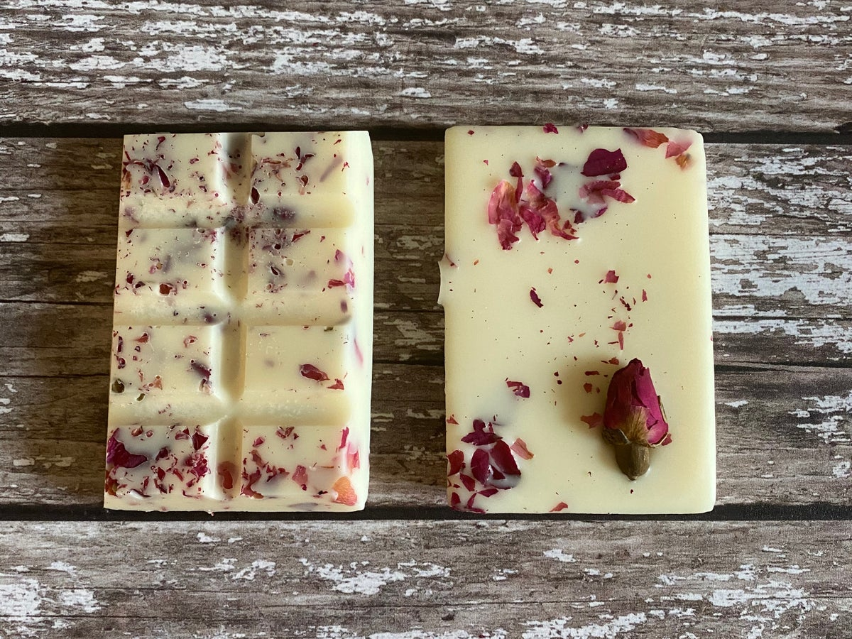 Image of Damask Rose & White Lily Soy Mini Wax Melt Bar