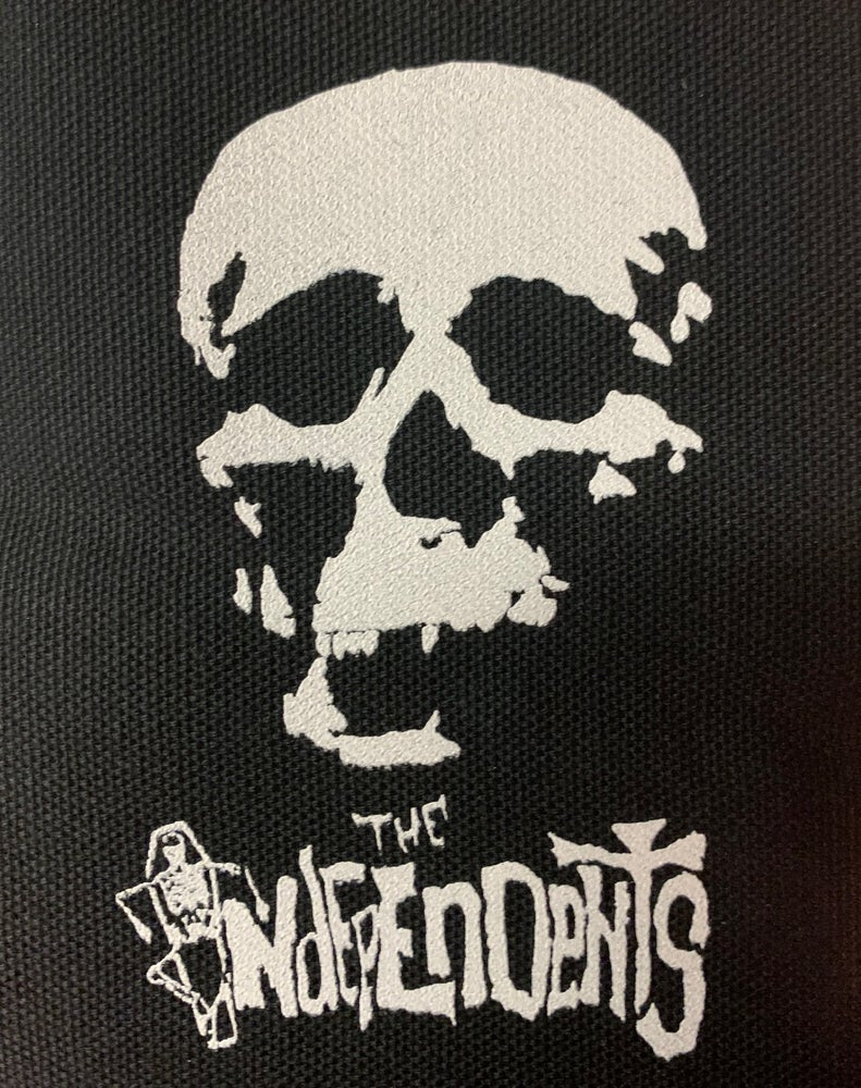 Image of The Independents classic skull patch