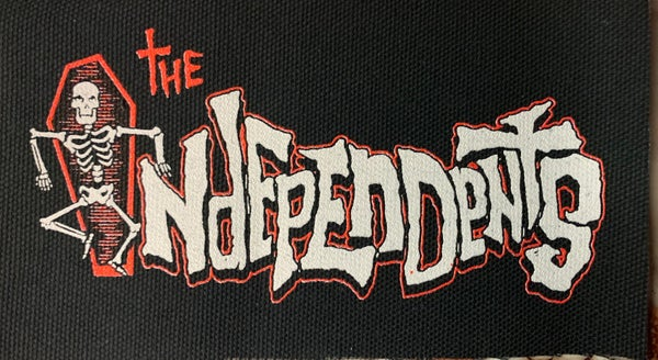Image of The Independents logo red patch
