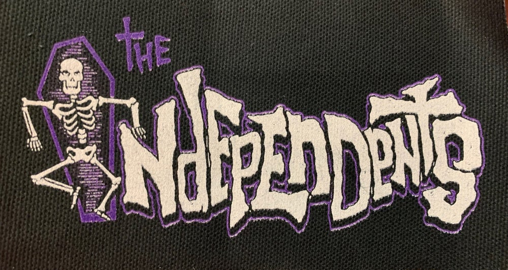 Image of The Independents logo purple patch