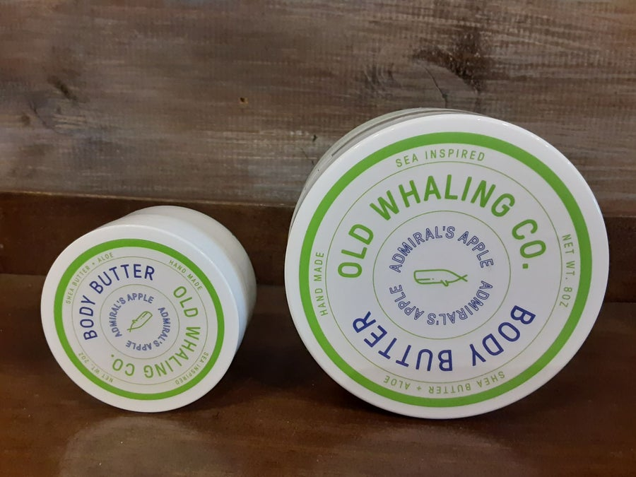 Image of Admirals Apple Body Butter- Old Whaling Co.