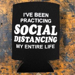 Image of Social Distancing - koozie